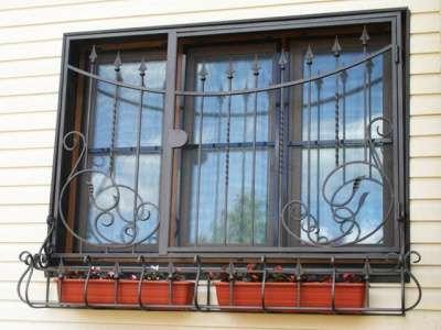 """Решетки на окна под заказ """"ГРАД"""" оконные решётки в г. Самара Фото 1"""