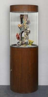 Цилиндрический аквариум (собственное производство) 150л в Миассе Фото 2