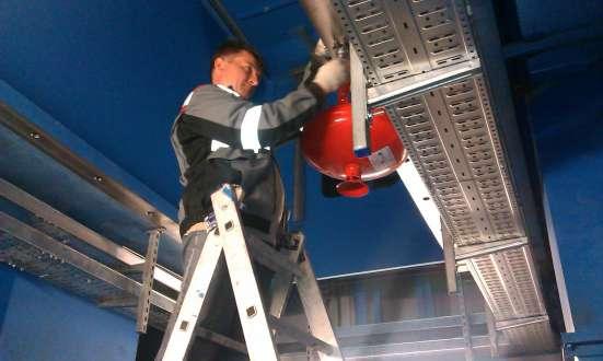 Пожарная сигнализация и оповещение о пожаре