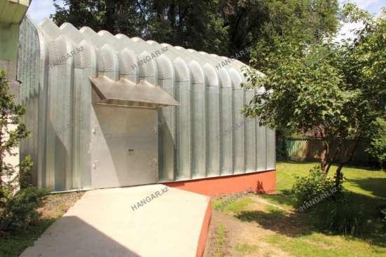 Строительство мобильных бескаркасных ангаров в г. Костанай