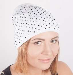 Женская трикотажная шапка мод. 442 в Москве Фото 1