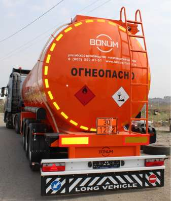 Полуприцеп 28 м3 БОНУМ цистерна бензовоз в Тюмени Фото 2