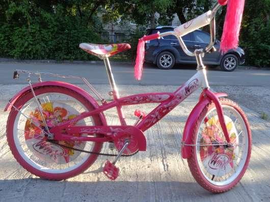 Велосипед детский Winx для девочек 7 - 12 лет