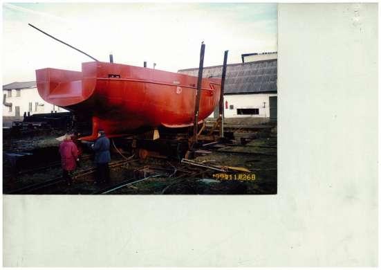 Корпус морского траулера длина 14 метров 2001года