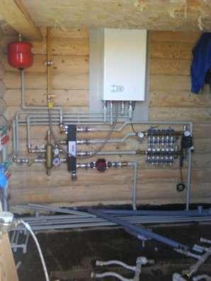 Монтаж систем отопления,водоснабжения,канализации в Сочи Фото 2