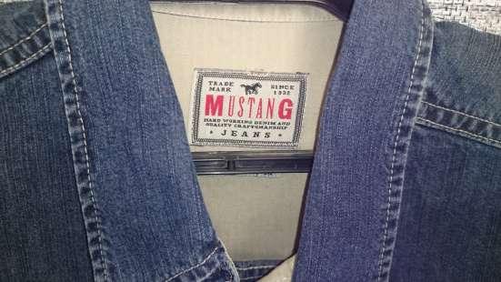Мужские рубашки, джинсовая ткань, мягкая. Германия. р-р46-48 в Уфе Фото 1