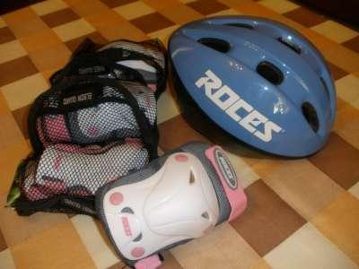 защита. набор защиты детский + шлем roces