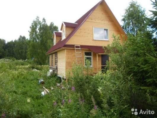 Продам новый дом из бревна и бруса 120 м2 участок 10 соток