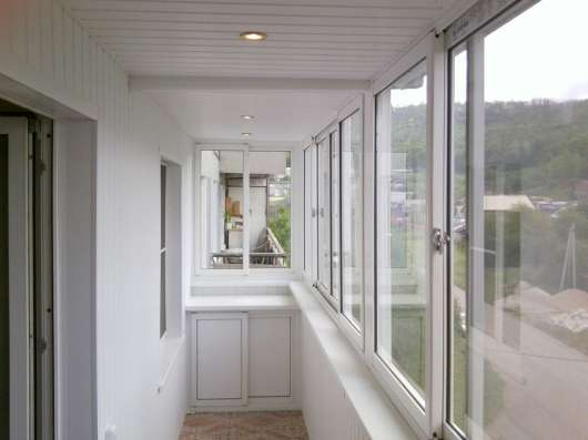 Остекление балконов и лоджий под ключ в Химках Фото 5