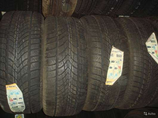 Новые зимние Dunlop 225 50 R17 Winter Sport 4D в Москве Фото 2