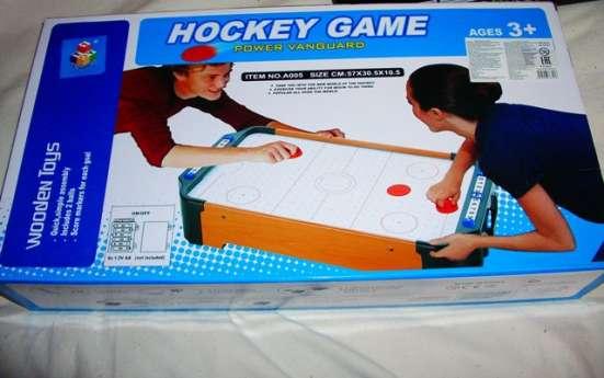 Аэрохоккей настольная игра деревянный