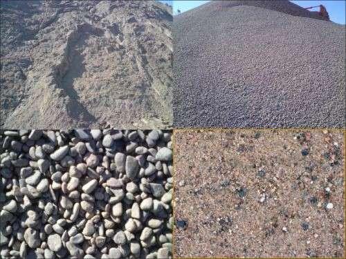 Песок илистый мытый природный