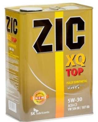 Масло Zic X7 LS 10W30 4литра синтетика в Раменское Фото 2
