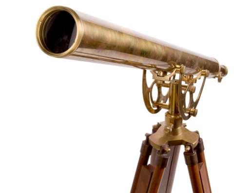 Старинный телескоп., Латунный телескоп Галилео Галилея в г. Дедовск Фото 3