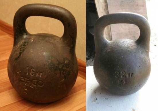 Куплю гири 16,32 кг Советского производства
