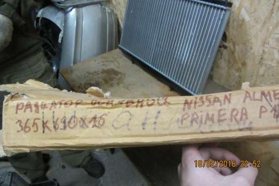 Радиатор охлаждения основной Ниссан Альмера 2001-2005