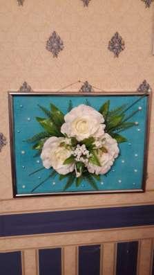 Топиарии и картины из искусственных цветов в Екатеринбурге Фото 5