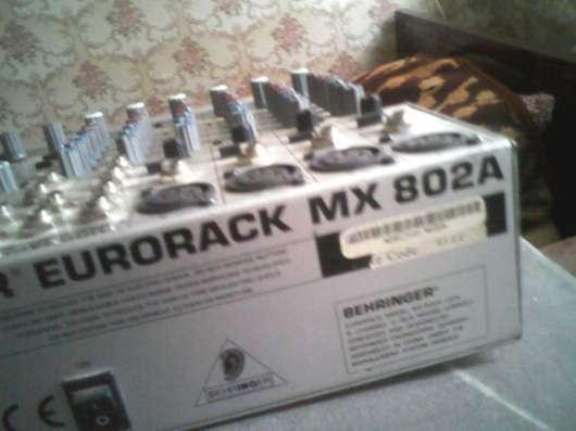 Пульт микшер Behringer Eurorack MX802a