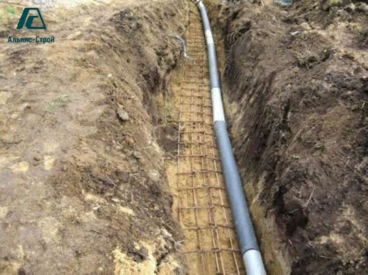 Устройство наружных сетей водопровода