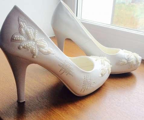 Продам свадебные туфли 37 размер