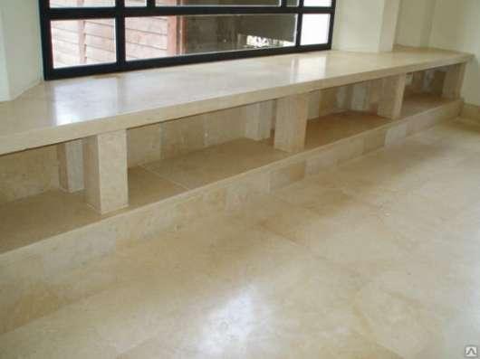 Подоконники, барные стойки-натуральный мрамор иерусалимский