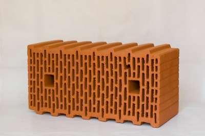 Керамический поризованный блок BRAER