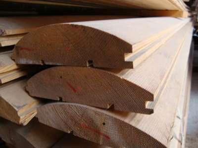 Блок-хаус (имитация бревна), м3